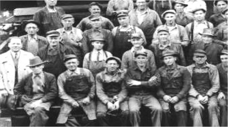Wayland Mill Workers