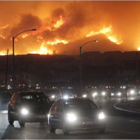 Wildfires Force Evacuation in L.A.