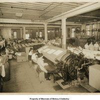 1916 Women as the main labor force in Seattle's steam laundries